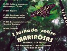 Alpedrete celebra el 31 de mayo la I Jornada sobre Mariposas