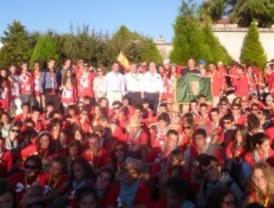 200 jóvenes de Pozuelo, en el Camino de Santiago