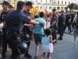 El 15M tendrá más policía que la huelga general