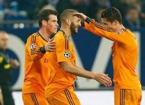 El Real Madrid golea al Schalke