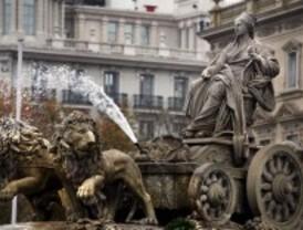 Las fuentes de Madrid acortan su horario