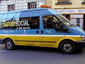 La Policía agradece al Samur Social su colaboración con los agentes