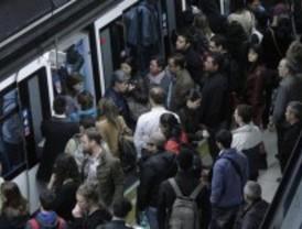 El Metro y la EMT viven su cuarta jornada de paros