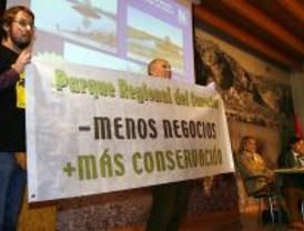 La Comunidad defiende el plan para el Parque del Sureste ante los ecologistas