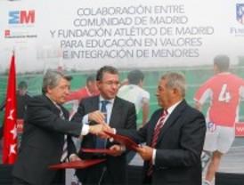 Torneo de fútbol para menores infractores en la ciudad deportiva del Atleti