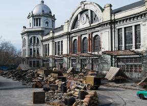 Dos empresas optan a alquilar el edificio histórico de la estación de Príncipe Pío