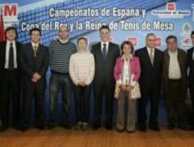 Collado Mediano acoge el Campeonato Nacional de tenis de mesa