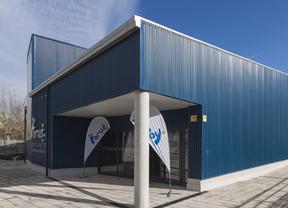 Soler inaugura el nuevo complejo acuático Getafe Norte