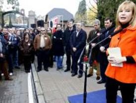 Homenaje a Pablo Iglesias en La Almudena