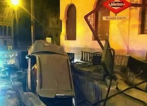 Reabre el acceso de Rubén Darío donde se empotró un coche
