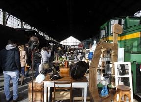 El Mercado de Motores se asienta en el Museo del Ferrocarril