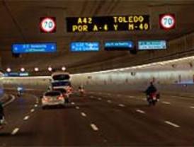 Abierto el túnel de la M-30 entre Marqués de Monistrol y el Nudo Sur