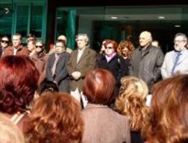 Concentraciones contra el asesinato de la mujer de Alcorcón