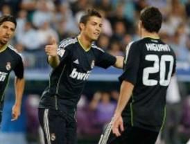 El Madrid golea al Málaga y se coloca lider a la espera de lo que haga el Villareal