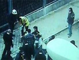Dos detenidos por atracar y tomar una rehén en una sucursal bancaria de San Blas