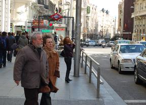 Madrid en alerta por vientos de hasta 90 km/h