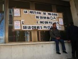 La huelga de funcionarios suma 1.170 actos judiciales más a la saturación actual