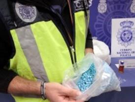 La Policía Nacional localiza una 'entabletadora' que podía fabricar más de 7.000 éxtasis por hora