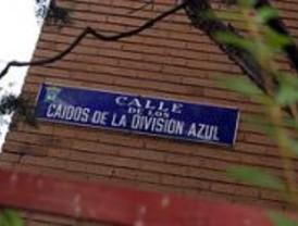 IU propone una comisión de partidos para renombrar las calles 'franquistas'