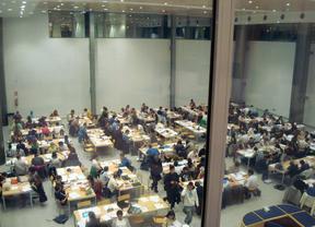 Una docena de bibliotecas de la Comunidad amplían su horario en época de examenes
