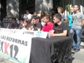 Diez colectivos estudiantiles convocan un 'día de lucha'
