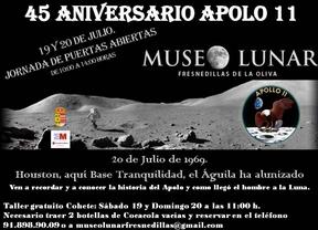 45 aniversario de la llegada del Apolo 11 a la Luna
