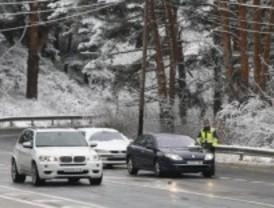 El 112 pide a los conductores que extremen la precaución por las bajas temperaturas