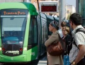 Los usuarios del tranvía de Parla crecen un 3,6 por ciento en 2011