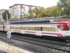 Paralizadas las obras de construcción del tren a Navalcarnero desde diciembre