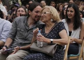Iglesias avisa al PSOE de que si retira su apoyo a Carmena