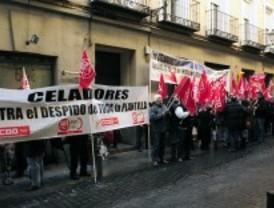 Nueva protesta de los celadores del Infanta Leonor