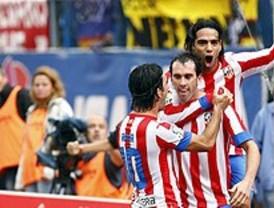 El Atlético alarga su racha triunfal