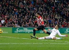 San Mamés frena al Real Madrid