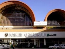 Adif rehabilita las cubiertas de Chamartín
