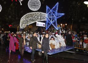 Miles de personas acompañaron a los Reyes Magos en su llegada a Getafe