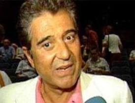 Andrés Pajares, detenido en Madrid