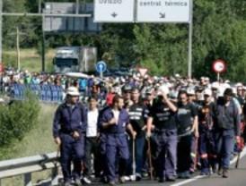 La marcha de los mineros llega a la Comunidad de Madrid este domingo