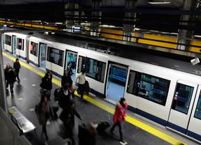 Un vagón de metro