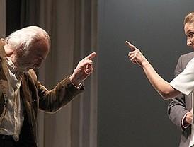 Héctor Alterio y Julieta Serrano se reencuentran 20 años después en 'La sonrisa etrusca'