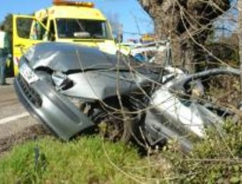 Un hombre de 45 años muere en un accidente de tráfico en la M-505