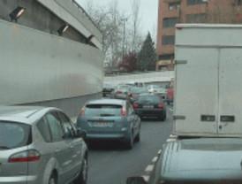 Complicaciones de tráfico en la M-40