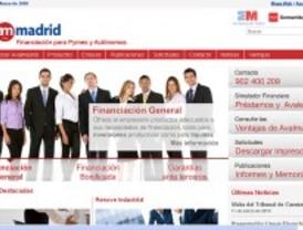 La nueva 'web' de Avalmadrid es más útil para las pymes madrileñas