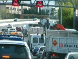 Tráfico espera 820.000 desplazamientos en las carreteras madrileñas este fin de semana