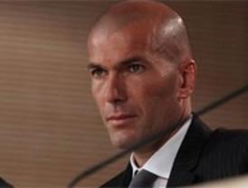 Zidane, director del primer equipo del Madrid