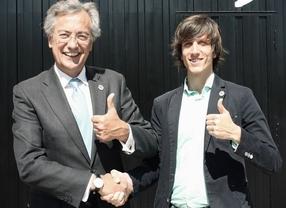 Firma del acuerdo entre Bultaco y Grupo Espinal.