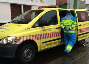 Muy grave un ciclista tras ser atropellado por un coche en Móstoles