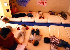 Niños en una escuela infantil