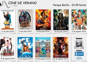 Cartel del cine de verano de Chamartín