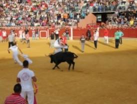 El segundo encierro de Parla deja un herido leve por asta de toro