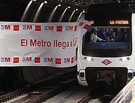 El Metro llega a La Fortuna y saca al barrio de su aislamiento histórico de Madrid